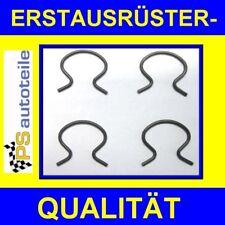 4x Halteklammer für Fensterkurbel Opel Kadett B+C, Ascona A+B, Olympia A