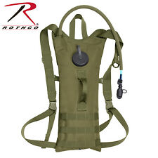 Rotcho Molle 3Lt Backstrap Hydration System Olive Model2831 & FREE CAN OPENER