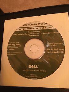 Dell Microsoft Windows Xp Professional Service Pack 3 Reinstallation Cd. New