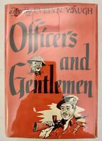 Officers And Gentlemen Waugh 1955 First War Soldiers Classic First Edition Death