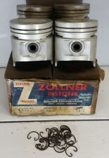 1955-1963 Ford and Lincoln 332 Y-Block Pistons set of 4 Zollner 3029B STD
