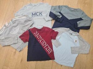 5-6 Years Boys Bundle McKenzie adidas converse jumpers tops (25)