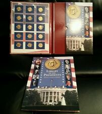 US Presidential President Gold Dollars Coin Collection Book Folder Uncirculated