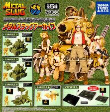 > Takara Tomy Neo Geo Metal Slug Mechanical Kit Figure Collection Full Set of 5