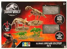 Jurassic World Ultimate Dinosaur Discovery Pack 2 Glow In The Dark Dinosaurs