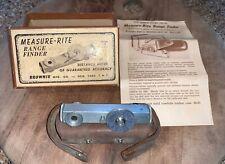 Vintage MEASURE-RITE Range finder - comes with the original genuine case & BOX