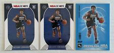 (3) 2020-21 Panini NBA Hoops Anthony Edwards Rookie 216 Arriving Now SS-19 Lot