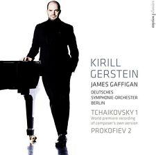 Tchaikovsky / Gerstein / Deutsches Symphonie-Orch - Piano Concertos [New SACD] H