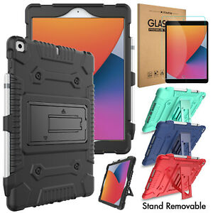 """For iPad 10.2"""" 8th / 7th Pro 11 / 9.7 Shockproof Silicone Protective Case Cover"""
