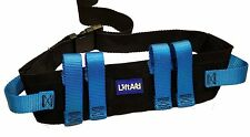 Gait Belt for Transfer & Walking with 6 Hand Grips Quick-Release Buckle LiftAid