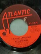 """WILSON PICKETT 45 RPM """"I've Come a Long Way"""" & """"Jealous Love"""" VG+ condition"""