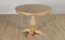 Cavendish Round Oak Dining Table - 100cm