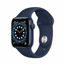 Brand New iWatch Series 6 GPS, 40mm Blue Case/Navy Sport Band 1 yr Warranty