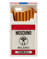 100% AUTHENTIC FW16 Moschino JS Fashion Kills Cigarette Packet iPhone 6/ 6S Case