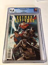 Batman Superman 4 Cgc 9.8 Variant White Pages New 52
