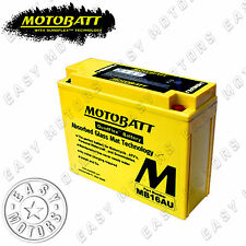 BATTERIA MOTOBATT MB16AU YAMAHA MOTOSLITTE VX OVATION 500 1996>1997