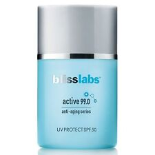 blisslabs Active 99.0 Anti-Aging Series UV Protect SPF 30, 1 oz.