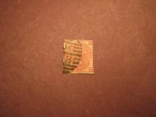 Great Britain Victoria Stamp Scott# 49 Queen Victoria 1867-80 L14