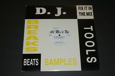 "Heavy D~Big Tyme Mix~All Mix'd Up~Etched 12""~D.J. Tools~Hip-Hop~FAST SHIPPING!"