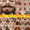 3D Printed Funny Face Mask Washable Breathables Mouth Protection Reusable UK