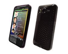 Funda Carcasa De Silicona Gel Negro Diamante ~ HTC Desire HD / G10