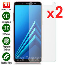 2Pcs 9H Tempered Glass Screen Protector Film For Samsung Galaxy A3 A5 A7 A8 2018