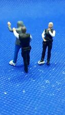 Resin finescale 00 gauge figures/people handpainted police making an arrest