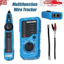 More details for rj11 telephone cable tester wire tracker line toner lan phone network tracer uk