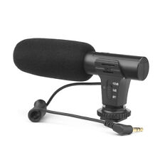 SHOOT-Kondensator-Stereomikrofon MIC für DSLR-Kamera Smartphone-Camcorder V7O9