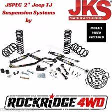 """Jspec 2"""" Suspension Lift Kit System for 1997-2006 Jeep Wrangler TJ JKS USA MADE"""