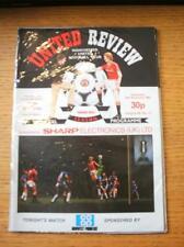 24/11/1982 Manchester United v Bradford City [Football League Cup] (Token Missin