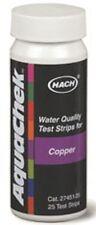 AquaChek Copper 661454 Swimming Pool SPA Hot Tub Copper Test Strips Kit 25ct