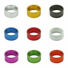 """NEW! Bicycle alloy 1-1/8"""" (28.6mm) Threadless Headset Spacer 15mm cycling bikes"""