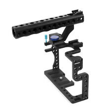 Protective Housing Case Handle Grip Rugged Cage Combo For Panasonic GH3 GH4 DSLR