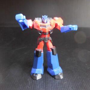 Figurine robot mécanique rouge bleu noir 2016 HASBRO MCDONALD'S TEB N7457