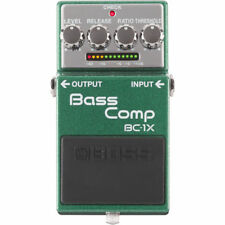 Boss BC-1X BC1X Bass Compressor StompBox Effects Pedal New