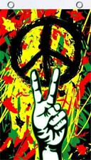 Peace Grafitti Fly Flag 3' x 5'