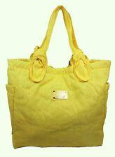 MARC JACOBS PRETTY Banana Creme Nylon Tote Bag Msrp $198.00