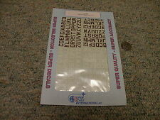 Superscale  decals 1/72 72-048 RAF ID white and red medium 9mm    N149