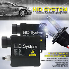 35W SLIM HID System Xenon Conversion Kit H1 H3 H4 H7 H10 H11 9005 9006 9007 9008