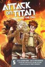 Attack on Titan: Before the Fall 5 Paperback Ryo Suzukaze