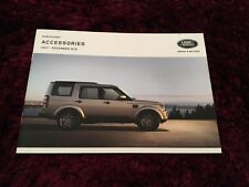 Land Rover Discovery Accessories Brochure - July - Dec 2016