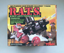 Tomy Battle R.A.T.S. Rats Robot Anti Terror Squad Starshooter Vehicle Moc 1980's