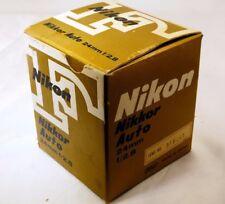Empty Box  for Nikon 24mm f2.8 Auto Nikkor  Lens - vintage