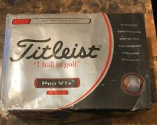 New! 1-Dozen Titleist Pro V1X Golf Balls