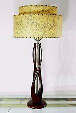 Rare Mid Century Danish Modernist Abstract Table Lamp vtg Eames Era C 1960s