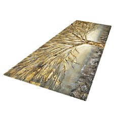 120x40cm Living Room Bedroom Non Slip Carpet Mat Abstract Painting Area Rug