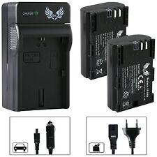 2x SK Akku für Canon LP-E6 1400mAh + Ladegerät LP-E6N | 1065164-90263-90329