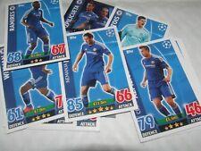 15 X Chelsea Uefa Champions League Match Attax 2015/2016 Tarjetas Topps Fútbol