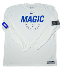 Nike Orlando Magic NBA Dri-Fit Long Sleeve Shirt White 3XLT 3XL Tall ~ New